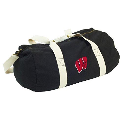 Logo Brands NCAA Wisconsin - Sandlot Duffel by (Badgers Bag Gym Wisconsin)