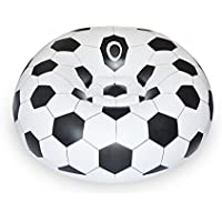 Oasis Plus Soccer Football Bean Bag Indoor Outdoor Inflatable Chair