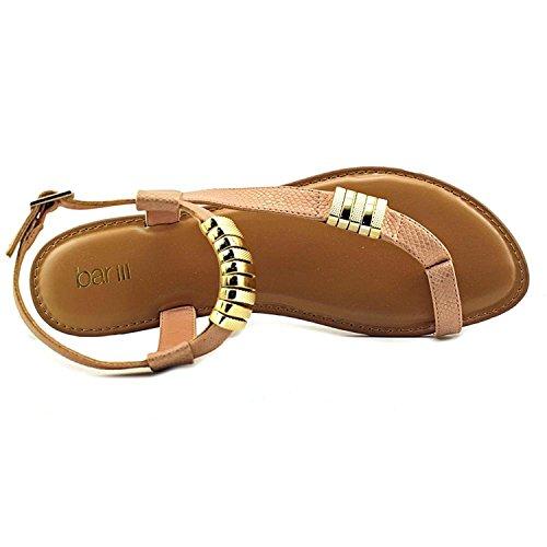 Bar III Verna Women Open-Toe Synthetic Tan Slingback Sandal Blush BwESNUl2