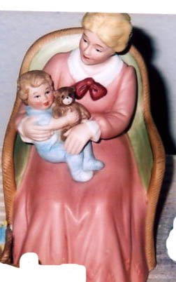 Homco/Home Interiors Mother & Child Figurine #8743