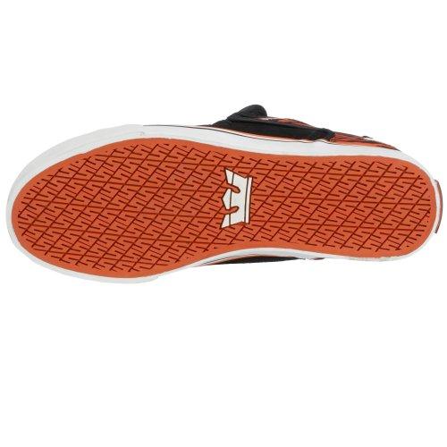 Supra - Zapatillas de skateboarding para hombre Negro