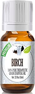 Birch 100% Pure, Best Therapeutic Grade Essential Oil - 10ml