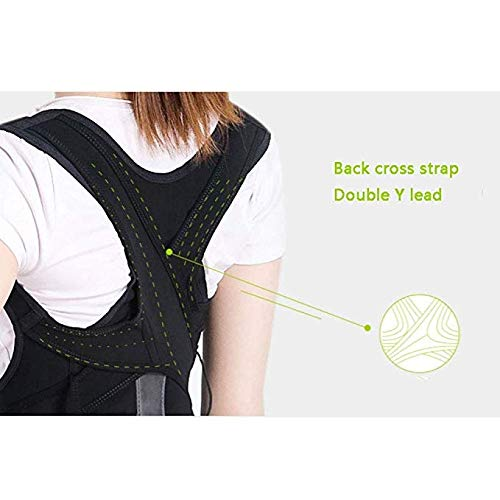 JCM Invisible Student Spine Breathable Comfortable Hunchback Correction Belt ZJ (Size : M) by JCM Back band (Image #1)