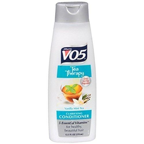 Alberto VO5 Tea Therapy Clarifying Conditioner Vanilla Mint Tea, 12.5oz (Pack of 3)