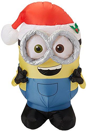 Gemmy Christmas Inflatable Minion Bob, 3.5 Feet -