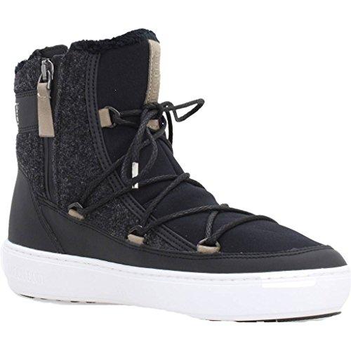 Boots PULSE MOON Bottines Noir BOOT Black BOOT Noir couleur TE Boots modèle marque BOOT MOON Bottines MOON WAU8BqA