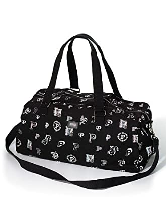 b9f1eda53 Amazon.com   Victoria's Secret PINK Duffle bag - Black Monogram   Travel  Duffels