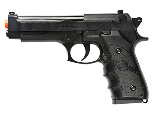 M757B 2000 FPS SPRING AIRSOFT GUN M9 92 6MM FS BERETTA TACTICAL HAND GUN w/ BBS