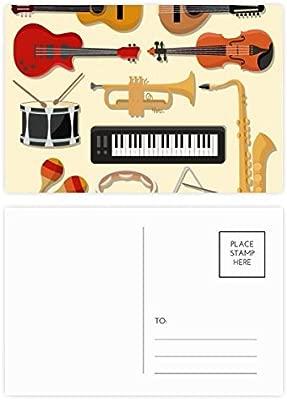 DIYthinker Piano eléctrico Gracias tarjeta trombón música de ...