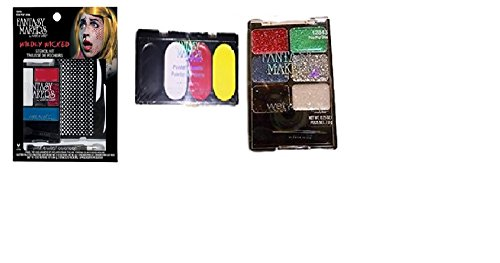 Fantasy Makers Makeup Kits- Pow Pop Diva- Glitter Kit & Painter's Palette - Pop Pow