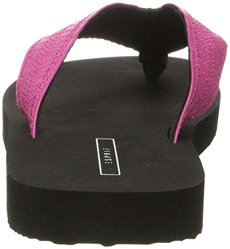 ESPRIT 047EK1W074, Chanclas Mujer Rosa (660 Pink Fuchsia)