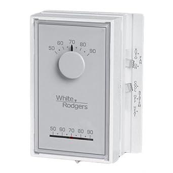 White Rodgers Vertical Thermostat - 1E56N444 - Non-Mercury ...