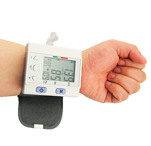 USA FDA pressure monitor wrist auto Heart Beat Rate Meter