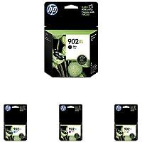 HP 902XL   Ink Cartridge Bundle   Black, Cyan, Yellow, Magenta   T6M14AN, T6M02AN, T6M06AN, T6M10AN