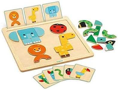 Djeco Primera Edad GeoBasic (36210), Multicolor (1): Amazon.es: Juguetes y juegos