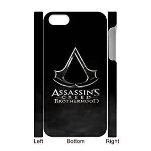iphone4 Phone Case White Assassin's Creed Brotherhood UYUI6793324