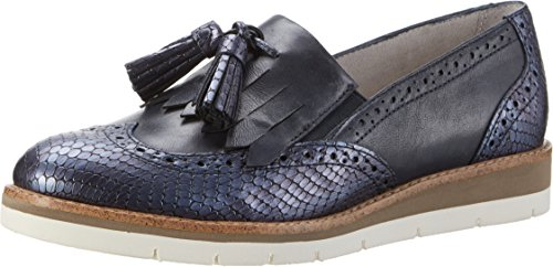 Tamaris Damen 24305 Slipper Blau (NAVY COMB 890)