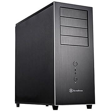 SilverStone SST-TJ04B-E - Carcasa de ordenador Temjin Midi Torre SSI-CEB ATX, negro