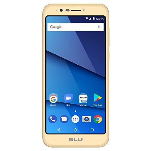 BLU Studio View XL S790Q 16GB Unlocked GSM Dual-SIM Android Phone w/13MP Camera - Gold