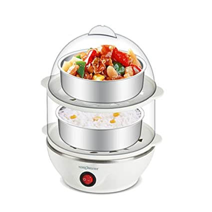 Buy INSHINE Multi-Function Double Layer 14 Eggs Electric Egg Boiler ...