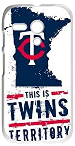 Personalized Minnesota Twins Case Cover for Motorola Moto G, Laser Technology PHONE CASES