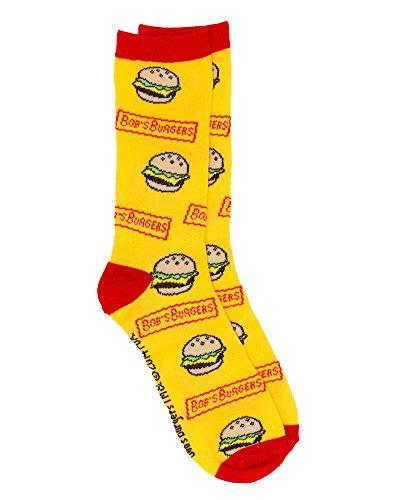 Bob's Burgers Burger Socks, Multi, OSFM]()