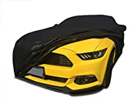CarsCover 2015-2016 Ford Mustang Custom Fit Car Cover Xtrashield Black Covers