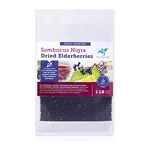 Which are the best dried elderberries organic 1 lb available in 2020?
