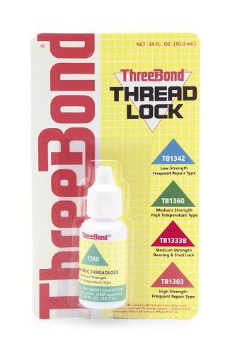 Threebond 1360a50c medium strength hi-temperature thread lock 50ml (1360A50C)