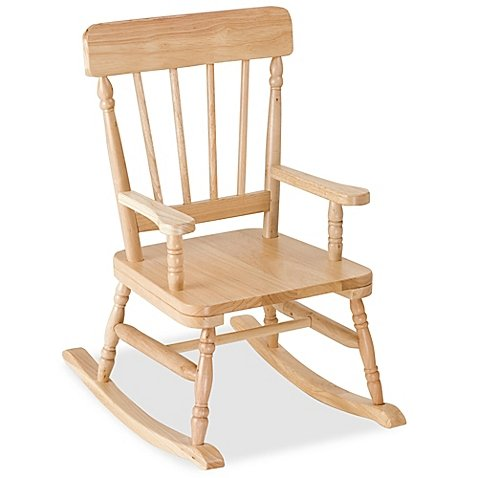 Levels Of Discovery Wooden Rocking Chair in Oak