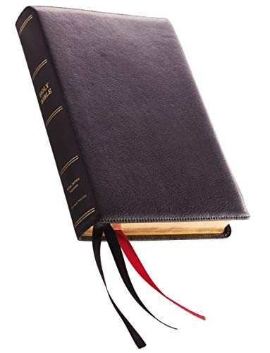 (KJV, Reference Bible, Center-Column Giant Print, Premium Goatskin Leather, Black, Premier Collection, Comfort Print: Holy Bible, King James Version)