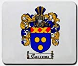 Carreau Family Shield / Coat of Arms Mouse Pad