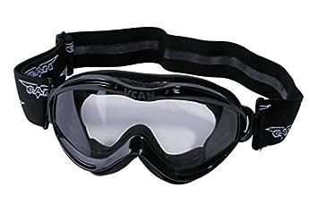 Protectwear Gafas motocross para niños negro