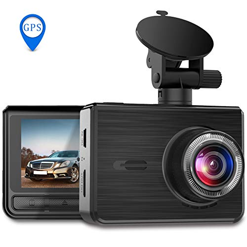 OIIEE Dash Cam FHD 1080P Car Driving Recorder 170°Wide Angle 6G Lens with Sony IMX323 Night Vision Sensor 2.45