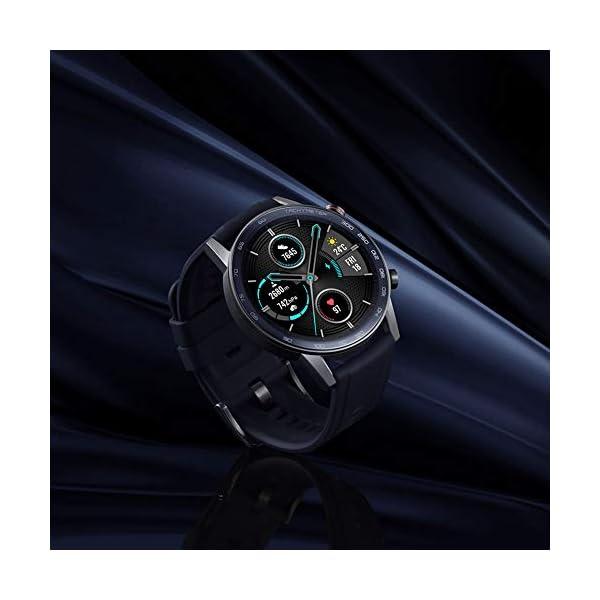 HONOR Smartwatch Magic Watch 2 46mm, 14 Giorni in Standby, con Cardiofrequenzimetro, modalità di Esercizio, GPS, Fitness… 2