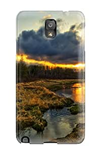 2429233K34424977 New Snap-on Skin Case Cover Compatible With Galaxy Note 3- Landscape Earth