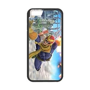 iPhone 6 4.7 Inch Cell Phone Case Black Super Smash Bros Captain Falcon BNY_6945205