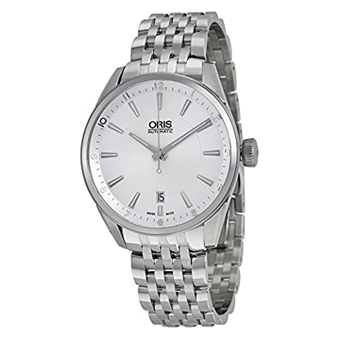 Oris Artix Automatic Silver Dial Stainless Steel Mens Watch 733-7713-4031MB (Watch Automatic Oris)