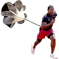Speed Drills Resistance Parachute Umbrella Running Chute...