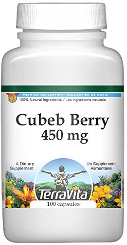 Cubeb Berry (Cubeb Berry - 450 mg (100 capsules, ZIN: 514761) - 2 Pack)