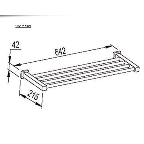 well-wreapped Mirror stainless steel Towel rack/Towel shelf /Bathroom accessories-A