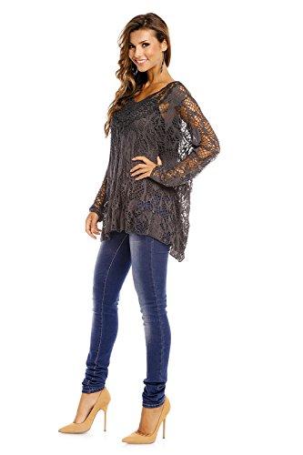 Fabio Fashion - Camisas - Casual - para mujer Koralle