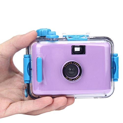 ClodeEU_Accessoires de téléphonie mobile ClodeEU❤❤Caméra sous-Marine étanche Mini 35mm Film Violet (Violet)