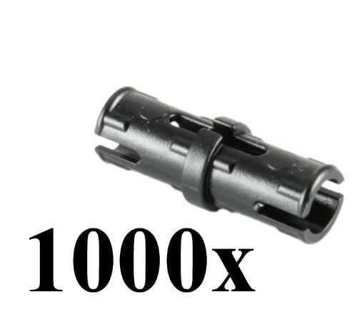 LEGO Technic Mindstorm NXT Black Friction Pin Connector part 2780 (Quantity 1000 pcs) (Lego Mindstorms Parts Bulk)