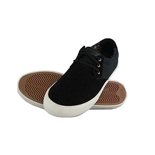 Lakai MJ Skate-Scarpe da uomo scamosciate, colore: nero