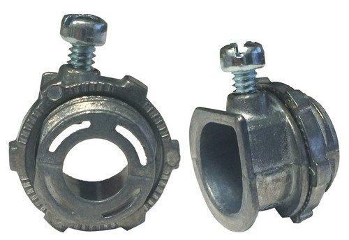 Morris Products 15052 BX//Flex Set Screw Box Connector 3//8 Trade Size 3//8 Trade Size Zinc Die Cast