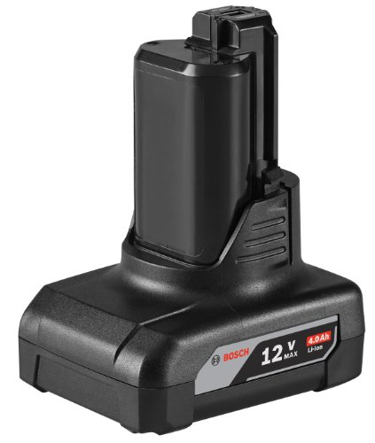 Bosch BAT420 12-Volt Max 4.0Ah High Capacity Battery ()