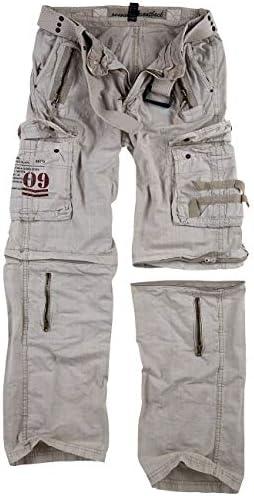 Trooper Royal Outback Pantalon cargo pour homme -  Ecru -  XXXXXL