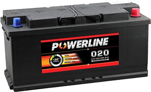 020 Powerline Car Battery 12V 110Ah: