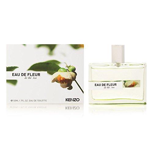 Kenzo Eaux de Fleurs Eau de Toilette Spray, Tea 1.7 fl oz (Eaux De Parfum)